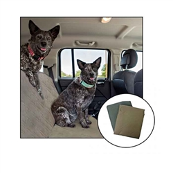 Pet Voyage Car-Seat COVER - Grey, 55 inch x 48 inch