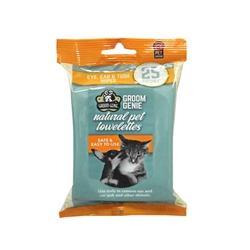 Groom Genie Sensitive Wipes - 25 pc.Soft-Pack