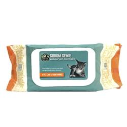 Groom Genie Sensitive Wipes -100 pc.Soft-Pack w/ Lid