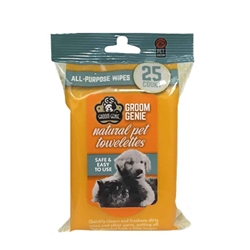 Groom Genie All-Purpose Wipes - 25 pc.Soft-Pack