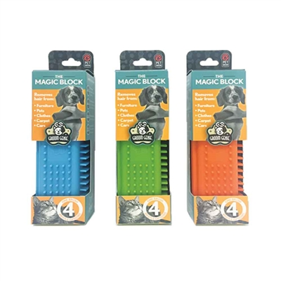 Groom Genie Magic Block - 5.5 inch, assorted