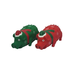 Globlets w/ Scarf/Santa Hat (Assorted Colors) - 8 inch