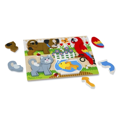 Chunky Jigsaw Puzzle - Pets