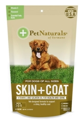 Pet Naturals of Vermont Skin & Coat Chews for Dogs (30 count)