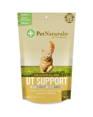 Pet Naturals of Vermont UT Support for Cats (60 count)