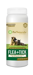 Pet Naturals Of Vermont Flea + Tick Wipes for Dogs and Cats (60 count)