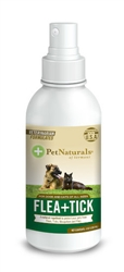 Pet Naturals of Vermont Flea + Tick 8oz Spray for Dogs and Cats
