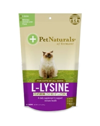 Pet Naturals of Vermont L-Lysine for Cats (60 count)
