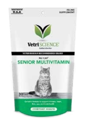 NuCat Senior Cat Chew (30 Chews)