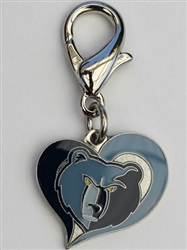 Memphis Grizzlies NBA Dog Collar Charm
