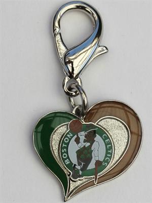 Boston Celtics NBA Dog Collar Charm