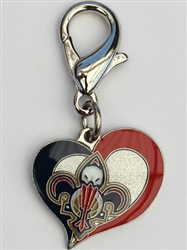 New Orleans Pelicans NBA Dog Collar Charm