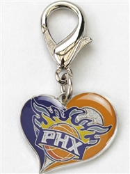 Phoenix Suns NBA Dog Collar Charm