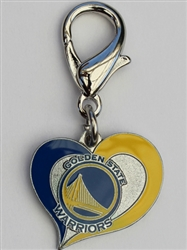 Golden State Warriors NBA Dog Collar Charm
