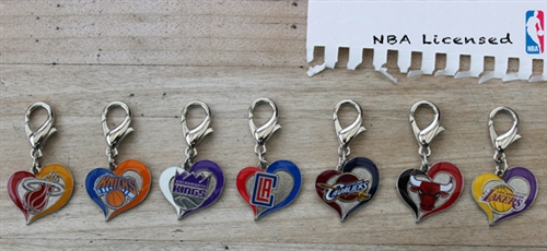 Los Angeles Lakers NBA Dog Collar Charm