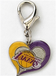 Los Angeles Lakers NBA Dog Collar Charm