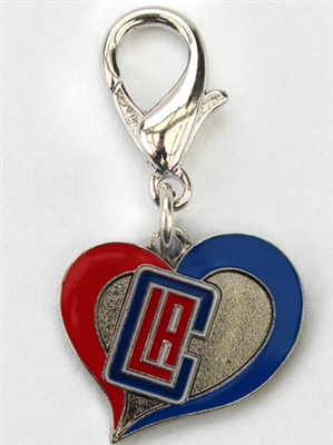 LA Clippers NBA Dog Collar Charm