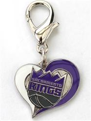 Sacramento Kings NBA Dog Collar Charm