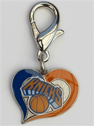 New York Nicks NBA Dog Collar Charm