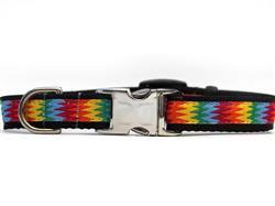 Good Vibrations Dog Collar - All Metal Buckles