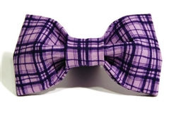 Bow Tie - Purple Plaid