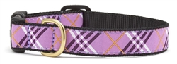 Lavender Lattice Collars and Leashes by Up Country