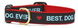 Best Dog Ever Collars and Leashes by Up Country