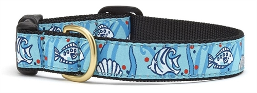 Angel Fish Cat Collar by Up Country