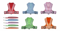 Precision Fit Gingham/Mesh Sport Harness 4101 Series