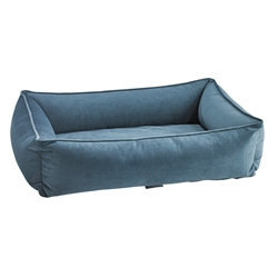 Urban Lounger Harbour Blue Microvelvet