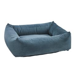Dutchie Bed Harbour Blue Microvelvet