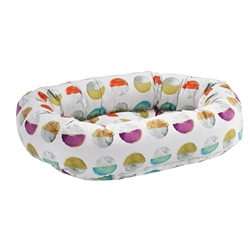 Donut Bed Luna Microvelvet