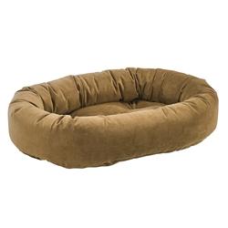 Donut Bed Amber Microvelvet