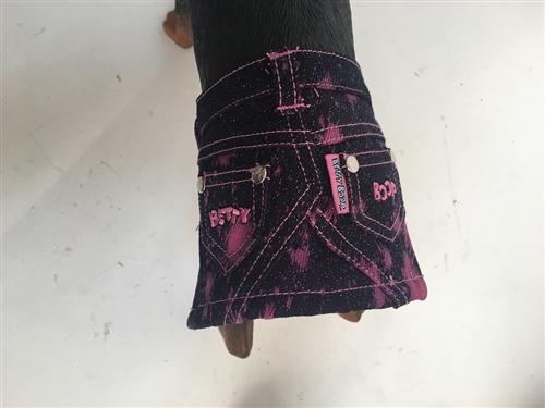Betty Boop Pink Glitter Demin Skirt