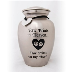 Paw Prints in Heaven Urn - ON SALE!!!