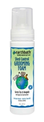 earthbath Shed Control Waterless Foam Green Tea & Awapuhi 8oz