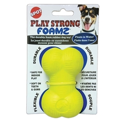 ETHICAL PLAY STRONG FOAMZ BONE DOG TOY