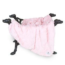 Bella Dog Blanket: Baby Pink