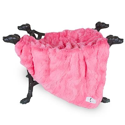 Bella Dog Blanket: Fuchsia