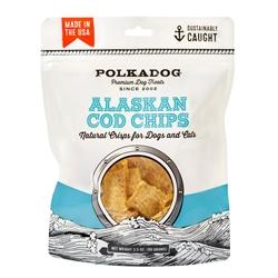 Polka Dog - Alaskan Cod Chips 3.5oz Bag