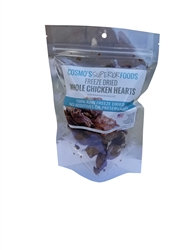 Cosmo's Whole Freeze Dried Chicken Hearts