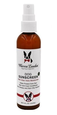 Dog Sunscreen With Aloe Vera Moisturizer