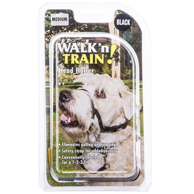 COASTAL PET WALK 'N TRAIN ! HEAD HALTER