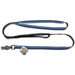 COASTAL PET PRODUCTS K9 EXPLORER REFLECTIVE LEASH WITH SCISSOR SNAP,  SAPHIRE BLU