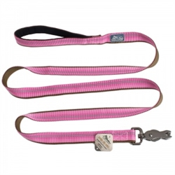 COASTAL PET PRODUCTS K9 EXPLORER REFLECTIVE LEASH WITH SCISSOR SNAP, ROSEBUD PINK