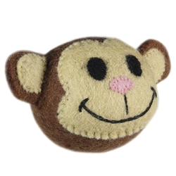 Wooly Wonkz Safari Toy Monkey