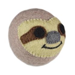 Wooly Wonkz Safari Toy Sloth