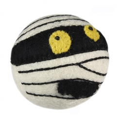 Wooly Wonkz Halloween Toy Mummy