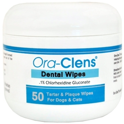 Ora-Clens Dental Wipes (50 ct)
