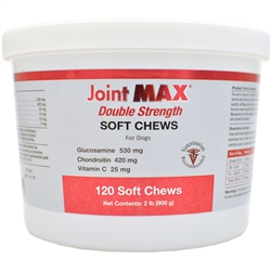 Joint Support - Joint MAX Double Strength Soft Chews (120 Chews)